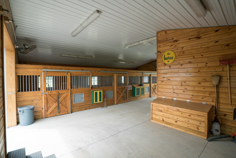 Horse Barn in Clayton, Delaware